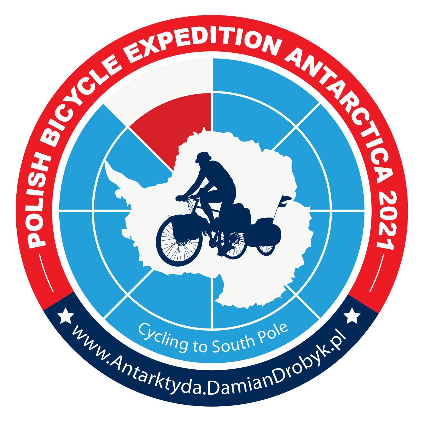 Polish Bicycle Expedition Antarctica 2021